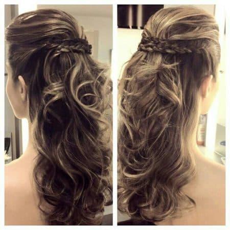peinados con crepe caireles