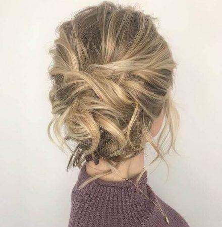 peinados con ondas mono messy