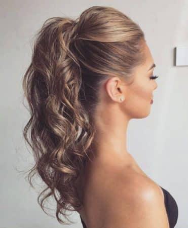 peinados con ondas volumen coleta