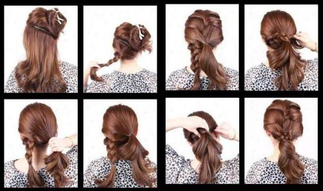 peinados con trenzas de raiz