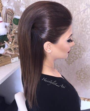 peinados crepe lacio