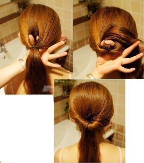 peinados faciles con coleta1
