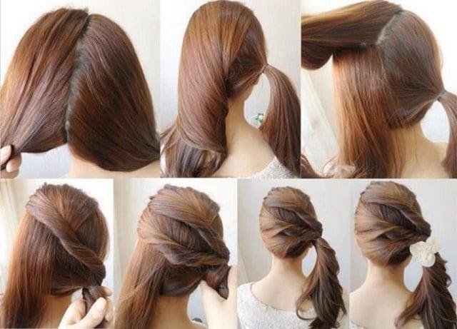 Peinados faciles interesantes rapidos bonitos