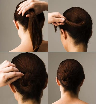 Peinados faciles cabello medio