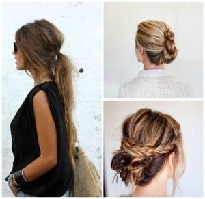 peinados faciles sencillos diario trenzas