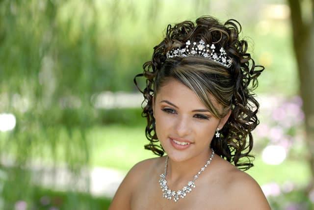peinados hermosos para 15 años con ondas