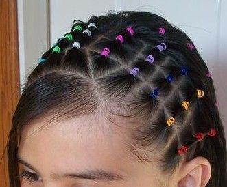 peinados ligas colores