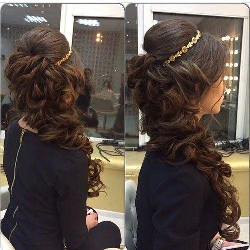 peinados para 15 anos tiara