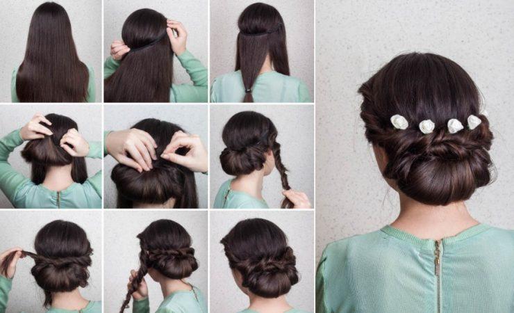peinados para boda pasos rodete