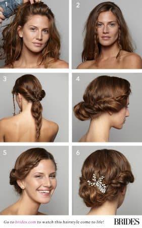 peinados para boda pasos trenzas hippie