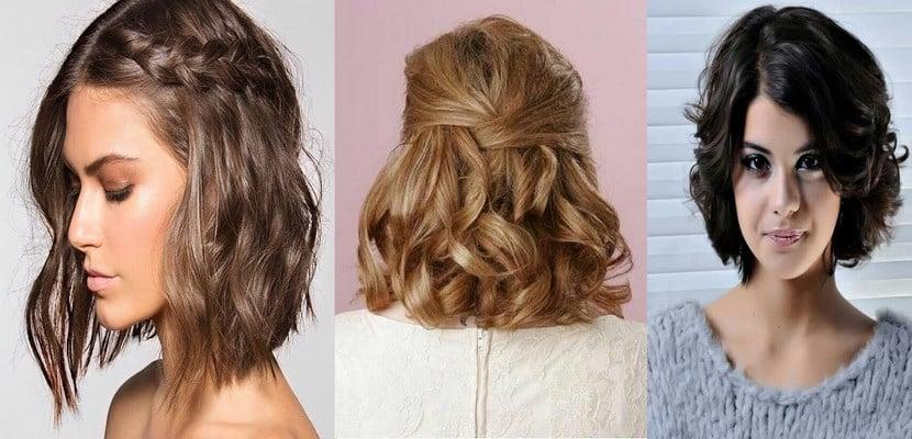 Ideas para peinados en pelo corto