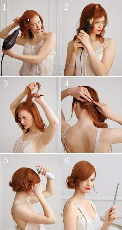peinados-para-graduacion-pelirroja