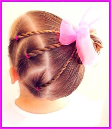 peinados para niña faciles y rapidos paso a paso