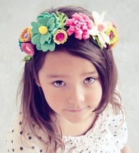 peinados para niñas con vincha 5