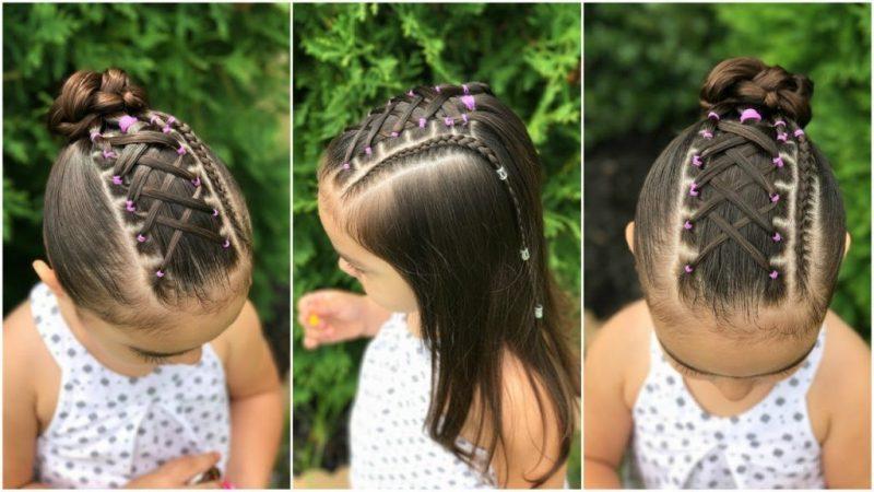 peinados para ninas con ligas 1024x576