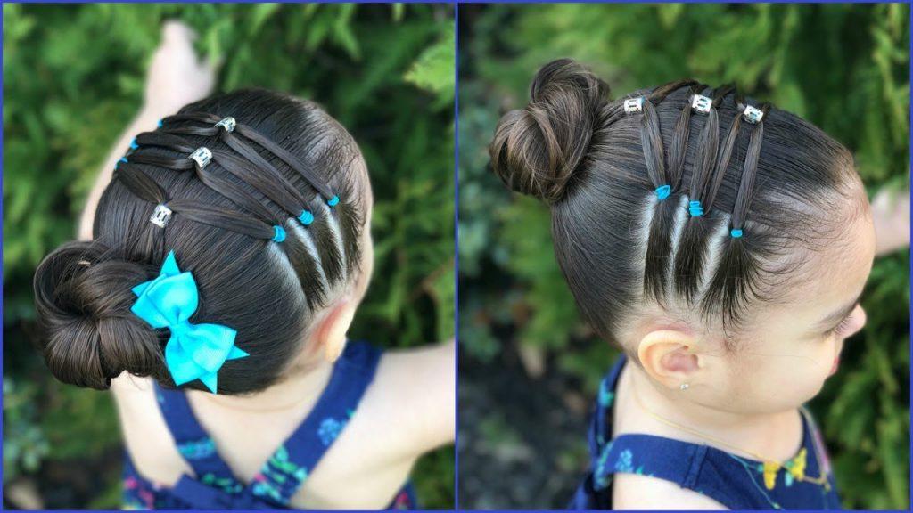 Lo más universal peinados bebe niña Fotos de tendencias de color de pelo - Los 70 Peinados para Niñas más Hermosos, Fáciles y Rápidos ...