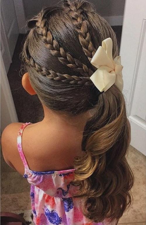 peinados para ninas elegante