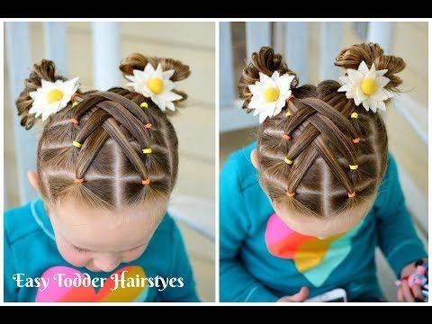 peinados para ninas flores