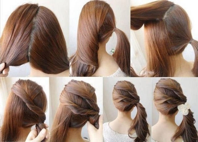 75 Peinados Para La Escuela Fáciles Y Rapidos Paso A Paso