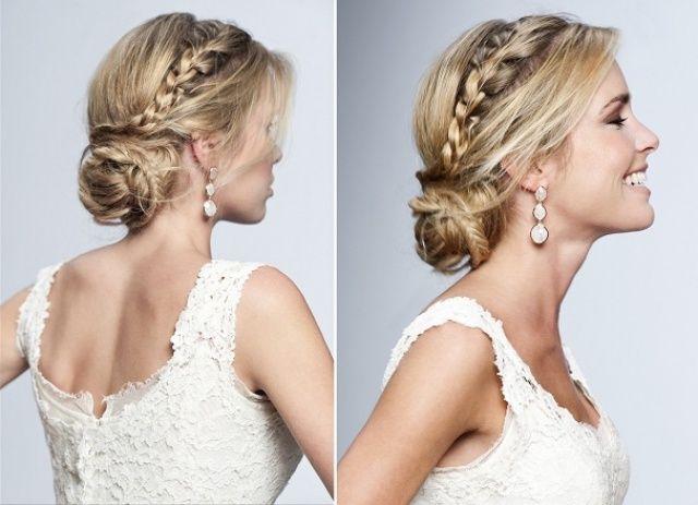 peinados recogidos bodas trenzas