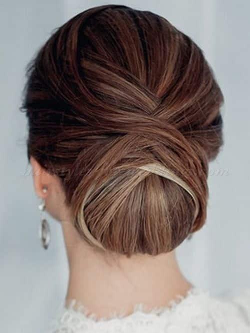 Peinados recogidos cabellos largos