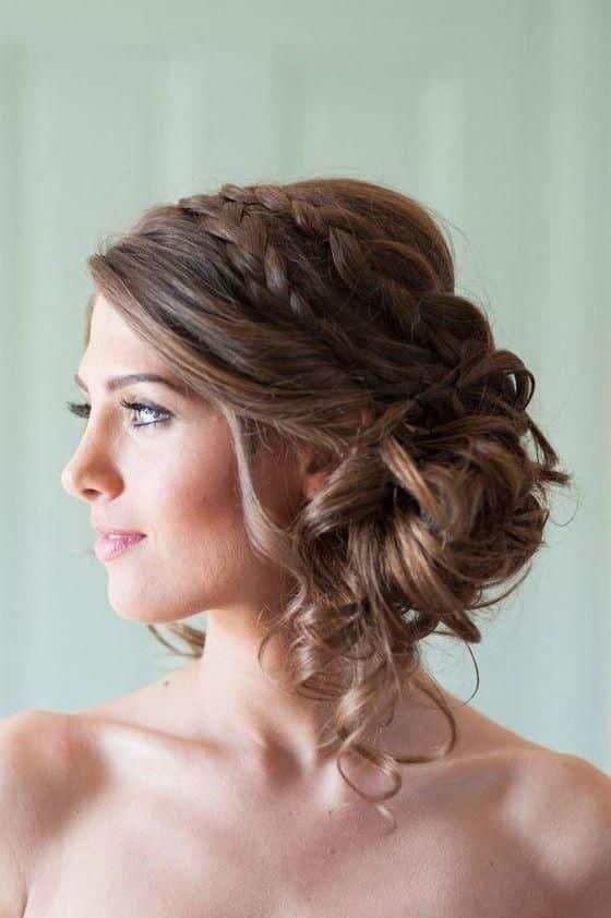 Peinados recogidos en el pelo