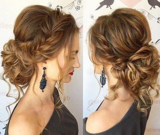 peinados recogidos trenzado francesa