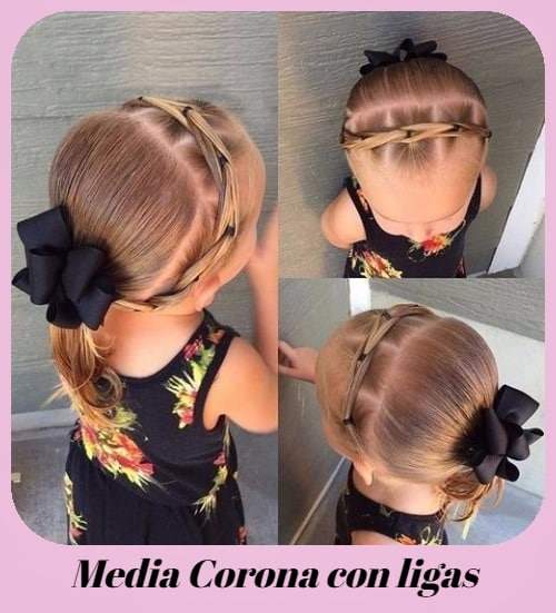 peinados super faciles para niñas fiesta