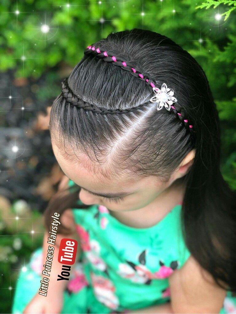 Ideas bonitas para peinados con trenzas para niñas Colección de cortes de pelo estilo - 75 Peinados con Trenzas para niñas fáciles paso a paso con ...