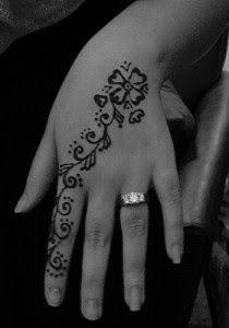 tatuajes para mujer en la mano flores
