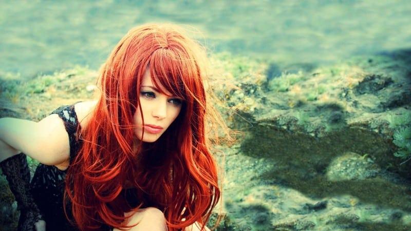 tipos de cabello rojo