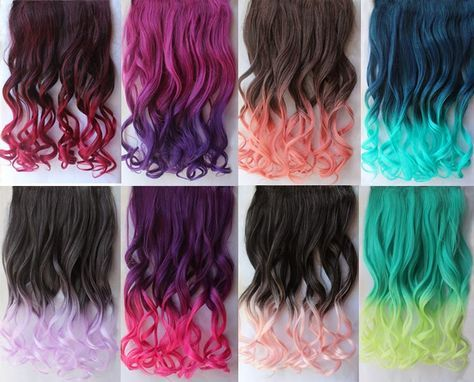 tips mechas de colores