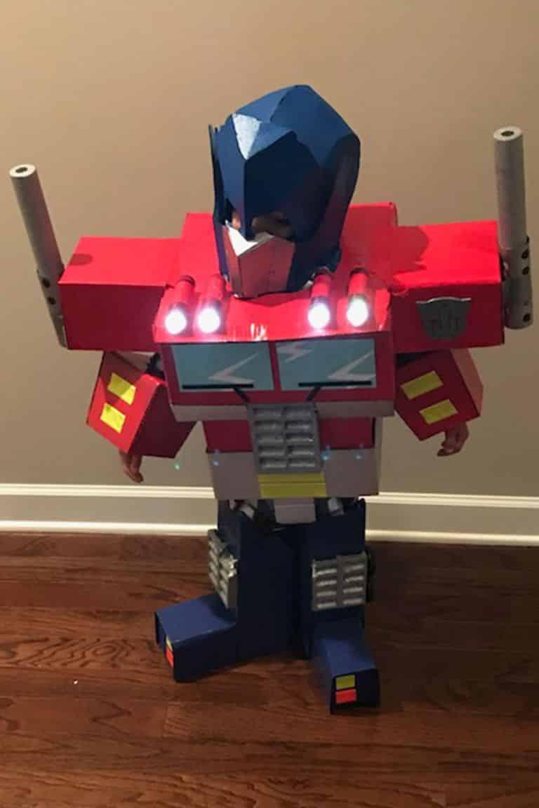 transformers disfraz