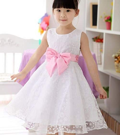vestido de moda para nina