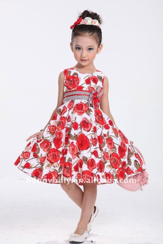 vestido fiesta ninas rosas