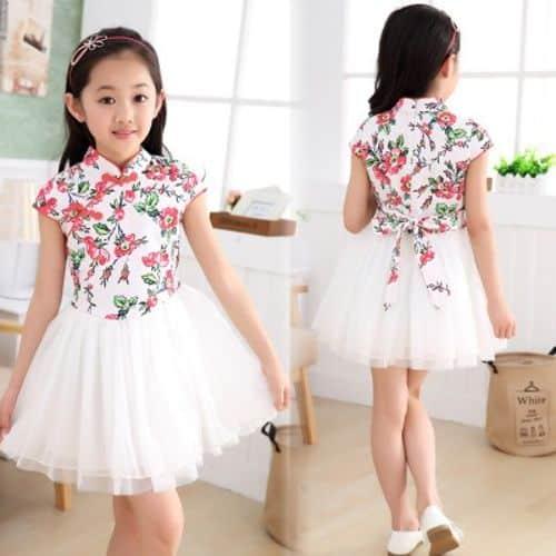 Vestidos sencillos y elegantes para ninas