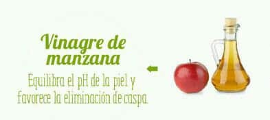 vinagre de manzana - mascarilla pelo