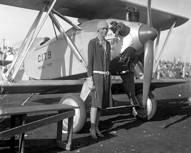 32-Amelia Earhart