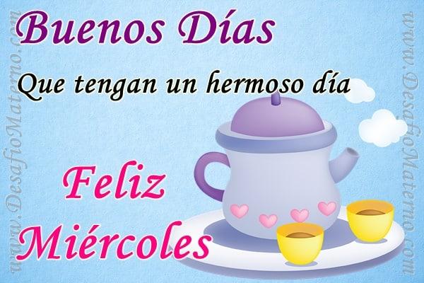 Buenos Días Feliz Miércoles