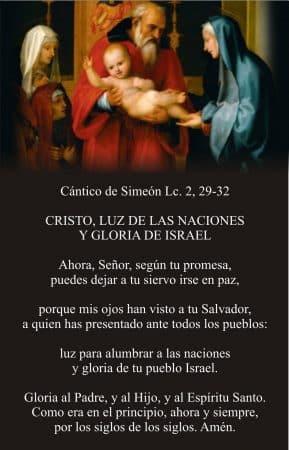 CANTICO DE SIMEON