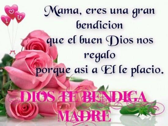 Día de la Madre flores y corazones 2