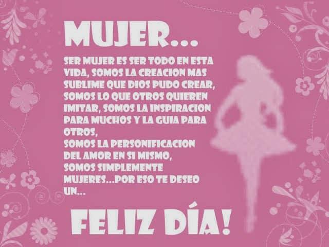 Feliz Dia de la Mujer 1