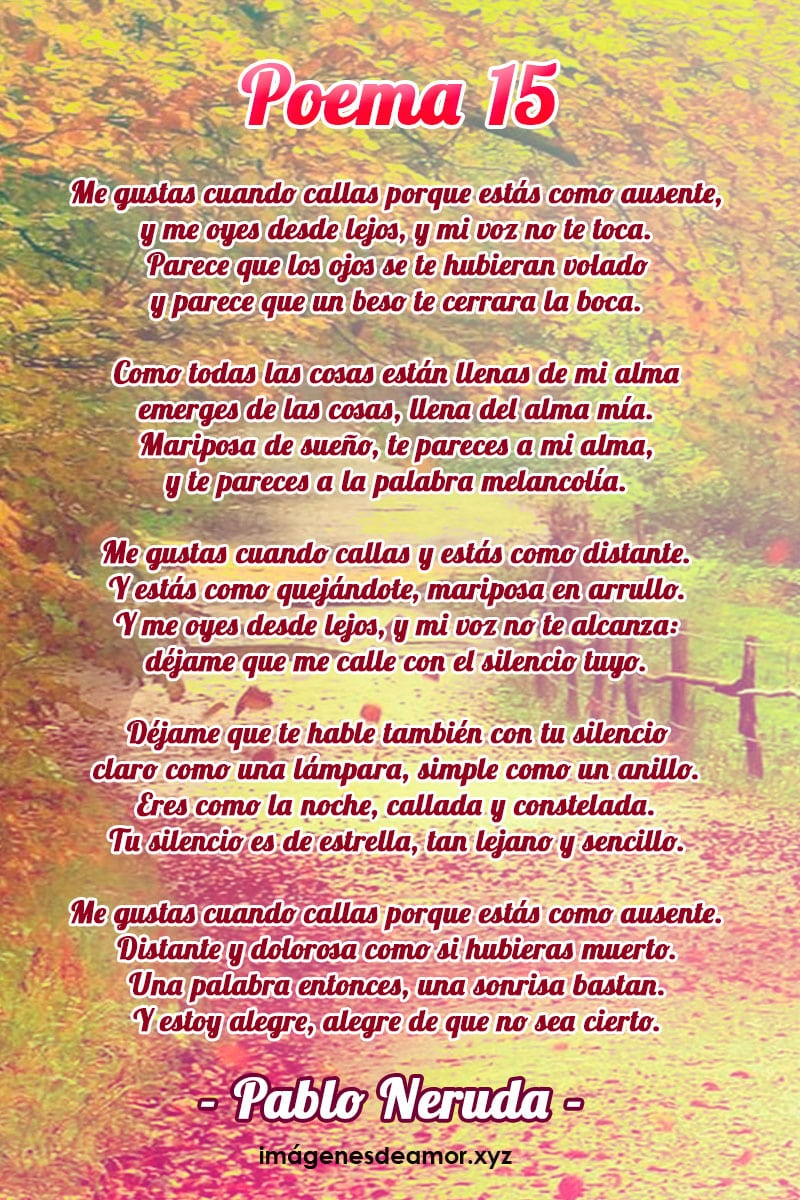 Poemas para un amigo especial que me gusta