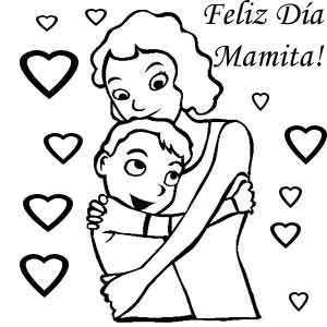 abrazo madre e hijo