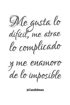 amor imposible dificil