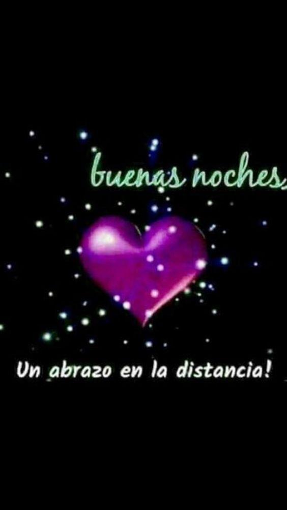 buenas noches con amor a la distancia