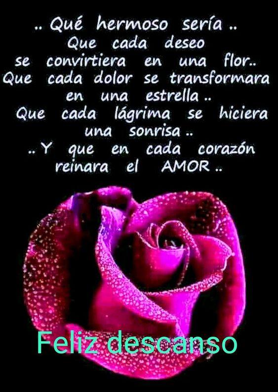 buenas noches con amor desear