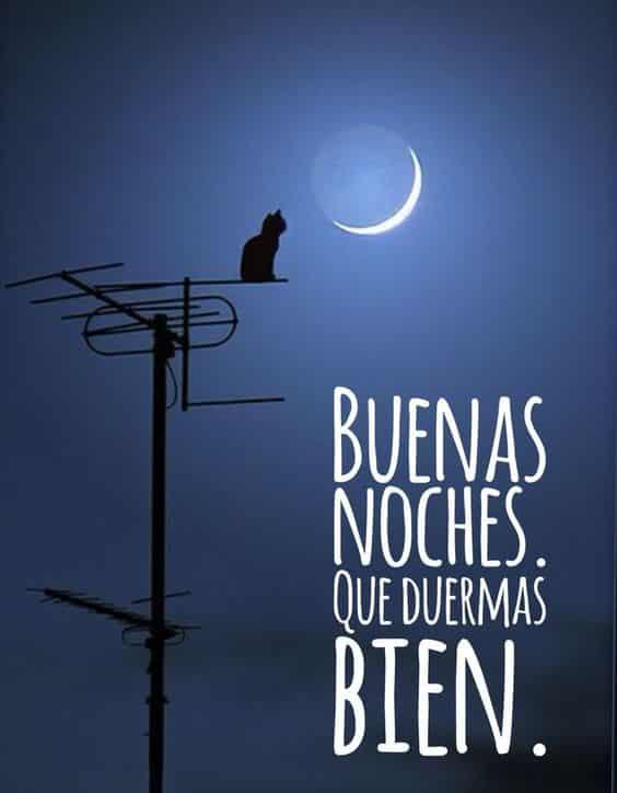 buenas noches con amor que duermas bien