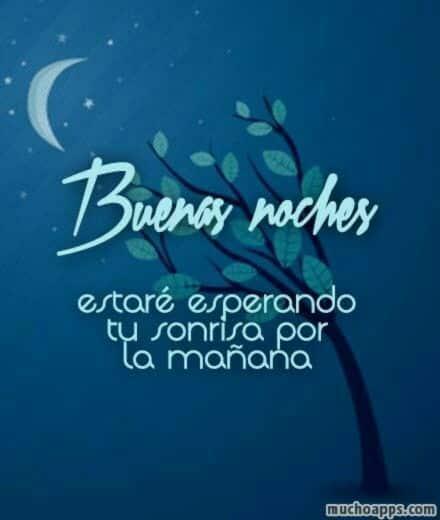buenas noches que descanses