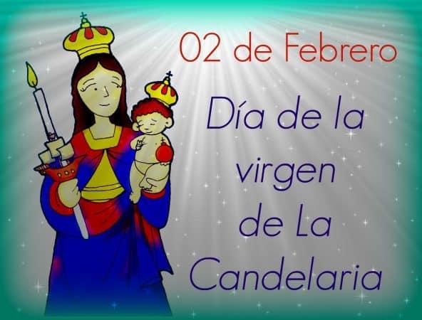 dedicatoria dia virgen candelaria